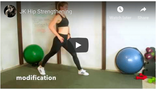 Hip strength to improve your skills