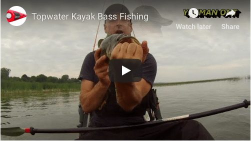 Some Top-water Fishing for Largemouth on Lake Erie , Cuda LT Cuda HD and the Kilroy,