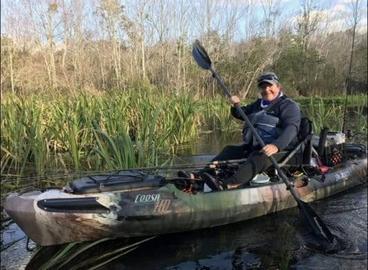 Kayak Angling Confidence: Confessions of a Scaredy-Cat Kid