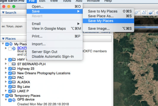 HOW TO: TRANSFERRING YOUR TRACKS FROM A LOWRANCE TO GOOGLE EARTH