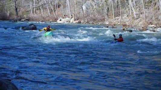 Maury River at Goshen Pass