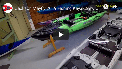 Mayfly 2019 Fishing Kayak New Colors, Wicked & Stone