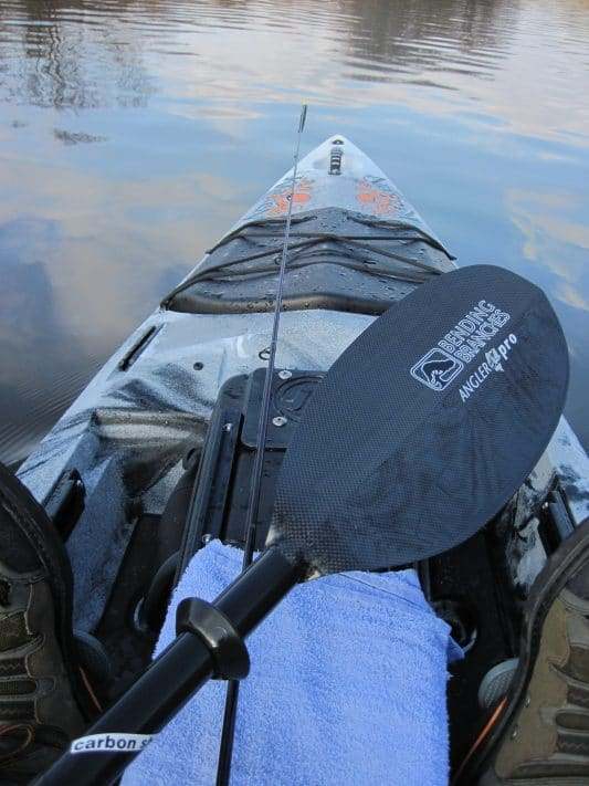"Bending Branches Angler Pro Carbon, a ""Wow"" Factor Paddle"