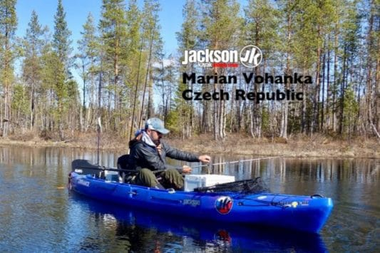 JK FISHING TEAM EUROPE: MARIAN VOHANKA, CZECH REPUBLIC