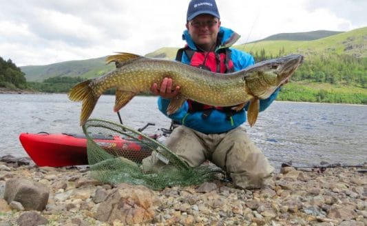 Pike Fishing In The Lakes
