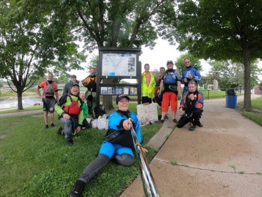 Charles City Whitewater River Clean Up