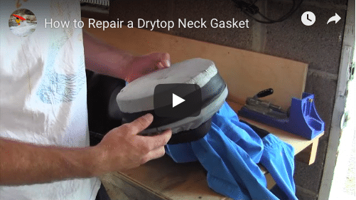 How to repair a neck gasket