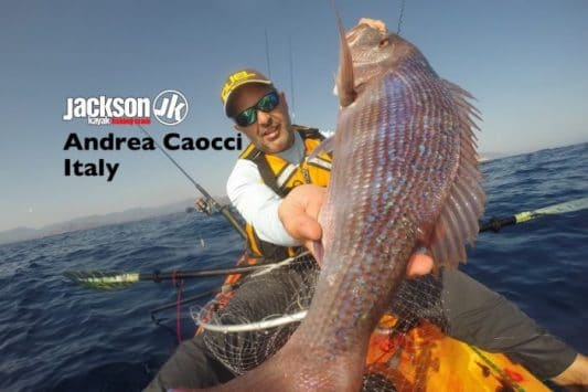 JK FISHING TEAM EUROPE: ANDREA CAOCCI, ITALY