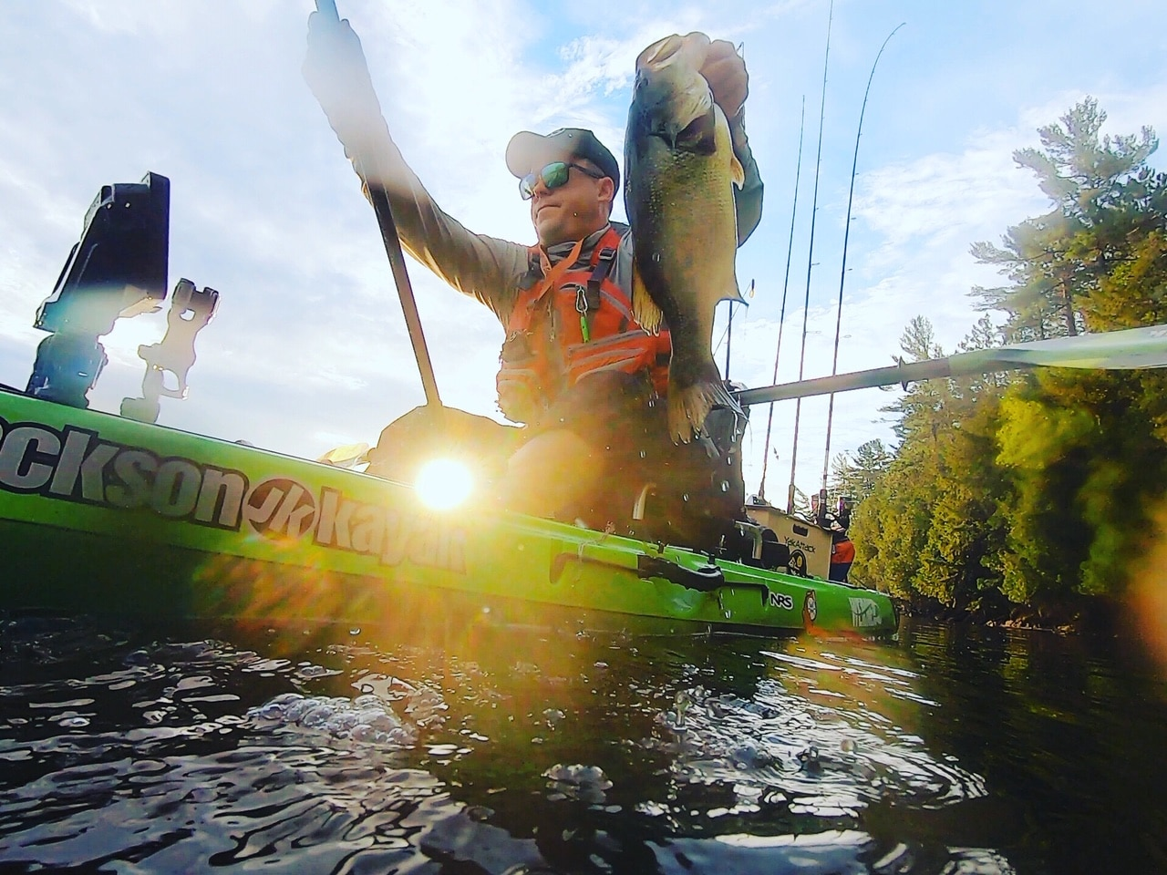 Kayak Bass Fishing the Dog Days of Summer