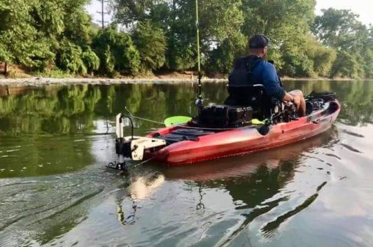 Torqeedo Install on a Jackson Kayak Big Rig HD