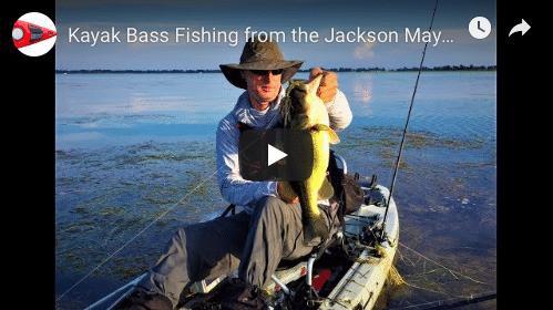 The Jackson Mayfly for Largemouth Bass