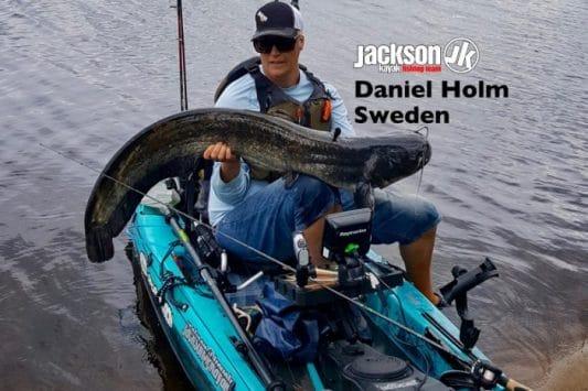 JK FISHING TEAM EUROPE: DANIEL HOLM, SWEDEN