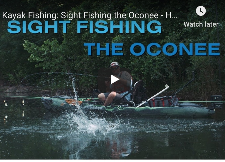 "VIDEO: Hooked on Wild Waters, ""Sight Fishing the Oconee"""