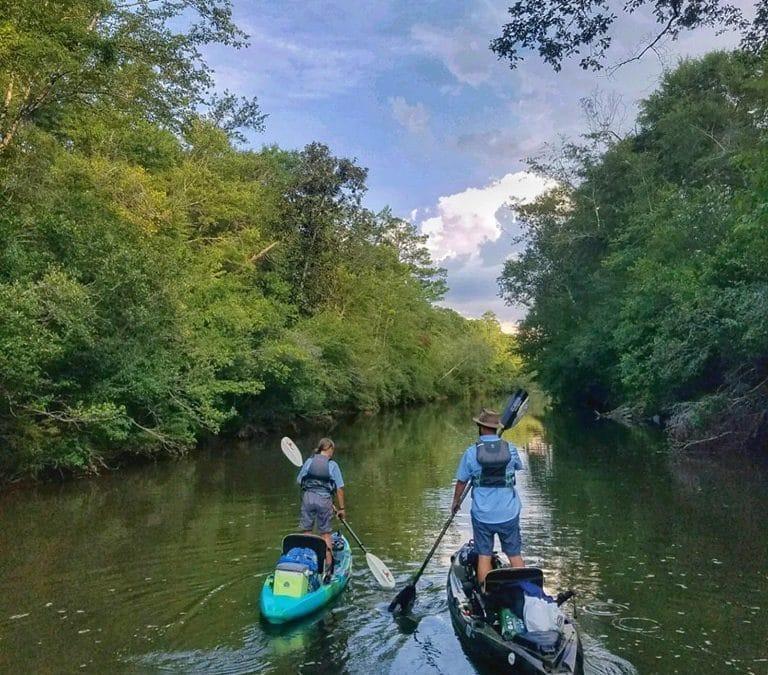 Kayak Camping with Ray