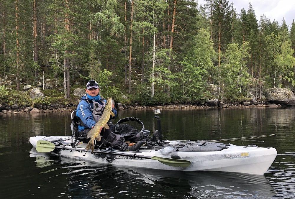 Lappföld, Svédország kajakpeca túra
