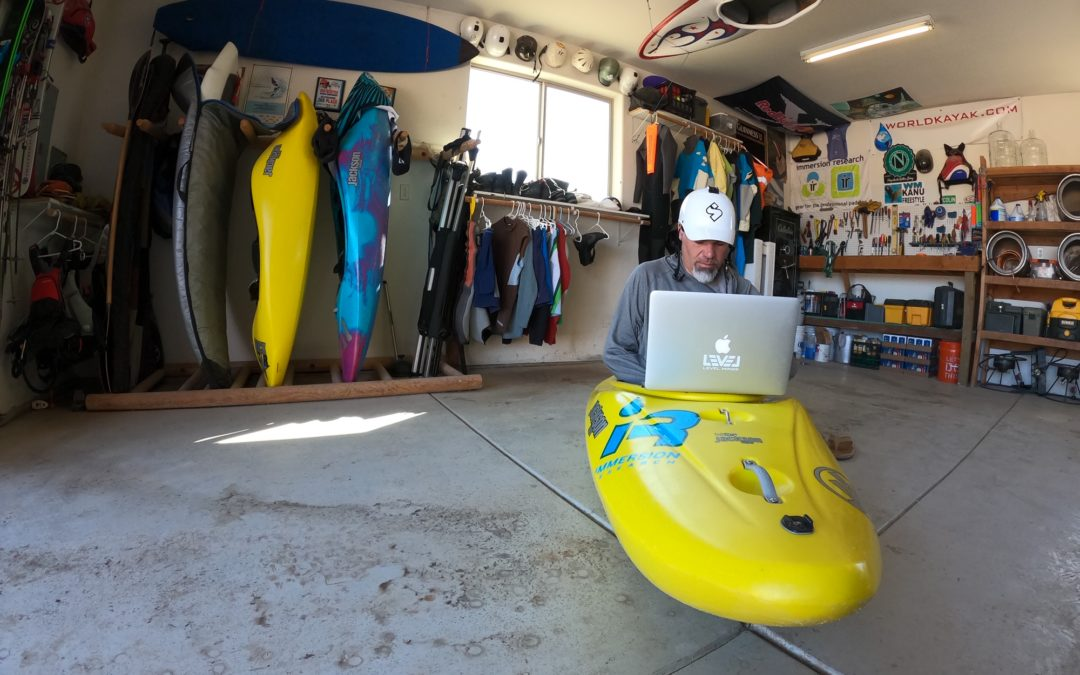 Working from Home A Kayakers Guide