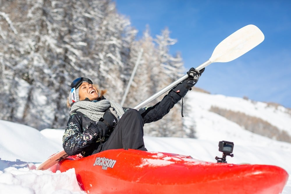   Winter Outdoormix SnowKayak 2020