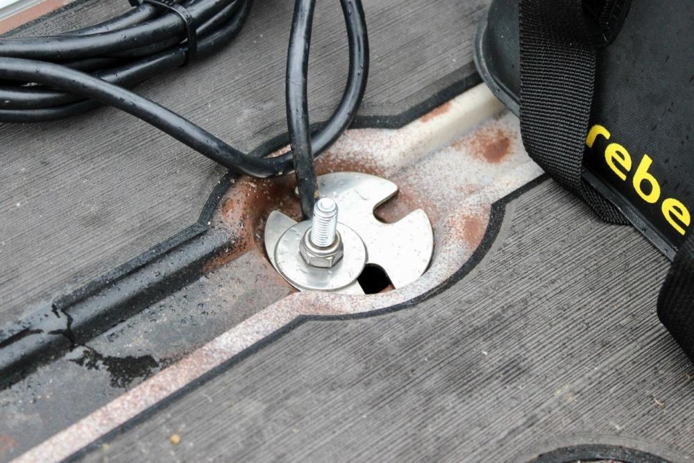 DIY Scupper Transducer Mount