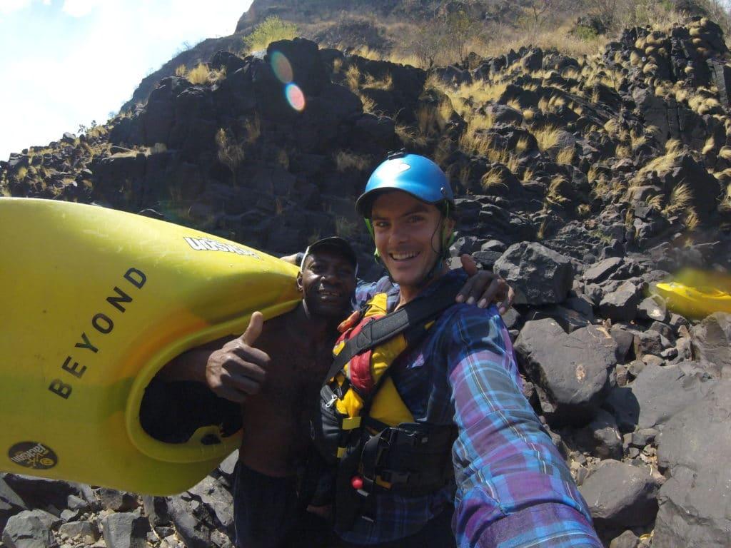Zambezi Whitewater Kayaking 2019