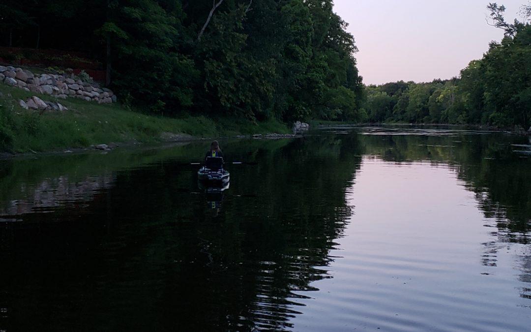 Father, Daughter Time | Kayak Fishing