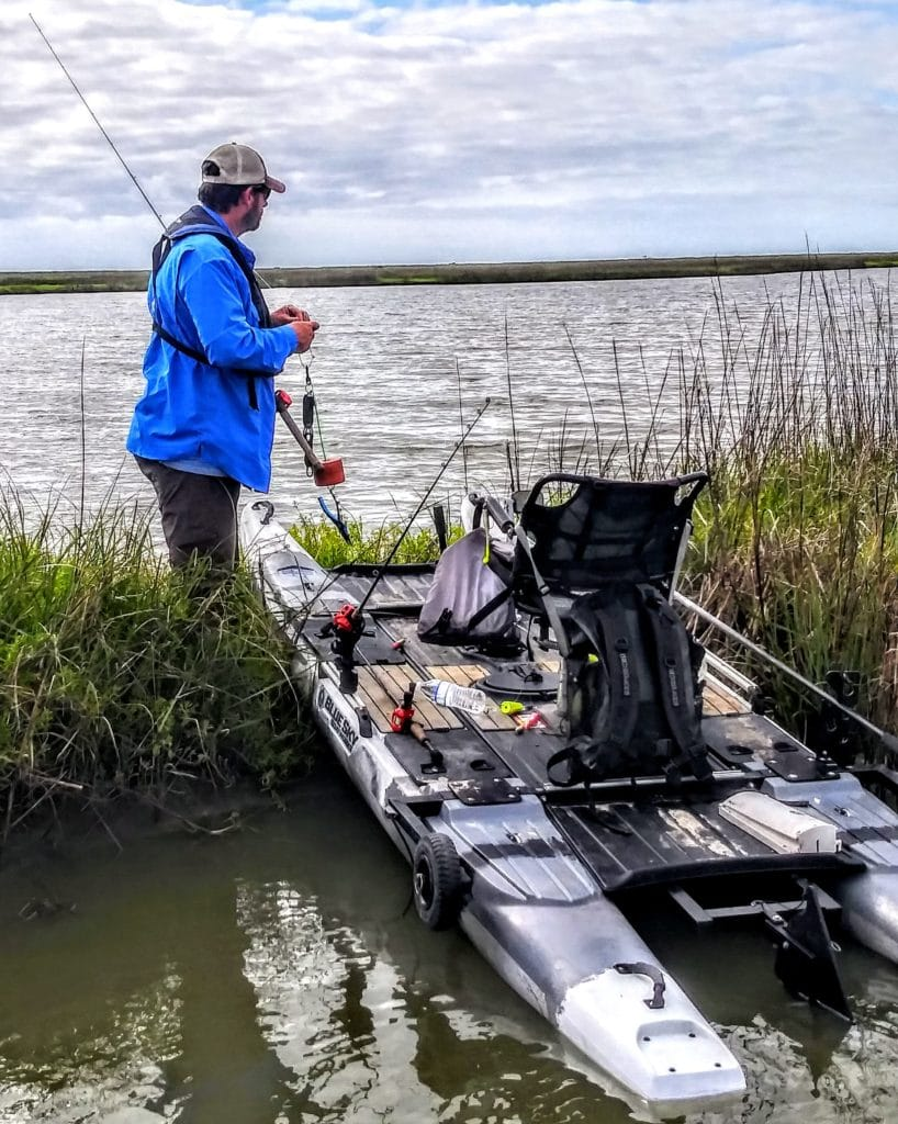From the Pedal to the Pole | The Blue Sky 360 Angler