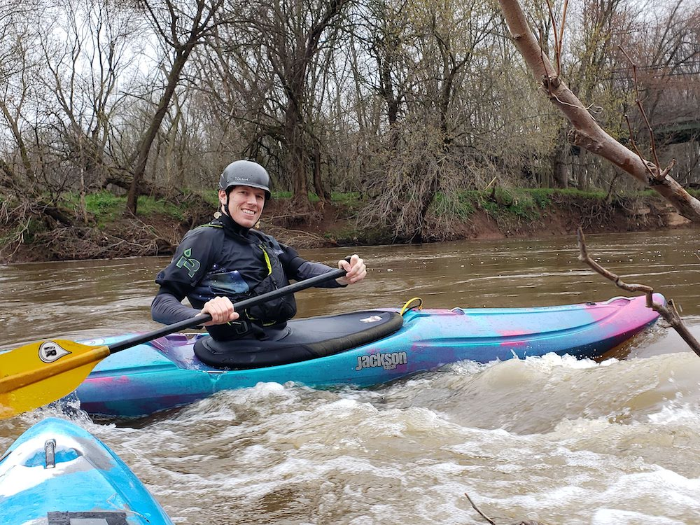 Learning from a Low Key Quarantine   Whitewater Kayaking