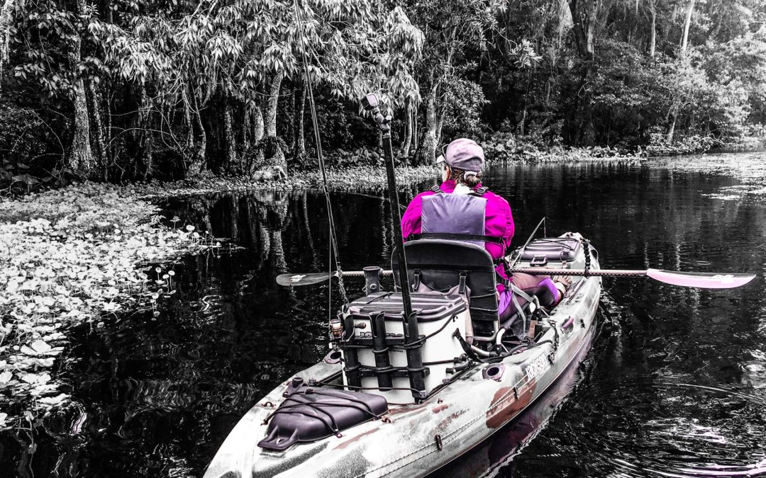 Kayak Fishing and The Great Outdoors: A Parent's Influence
