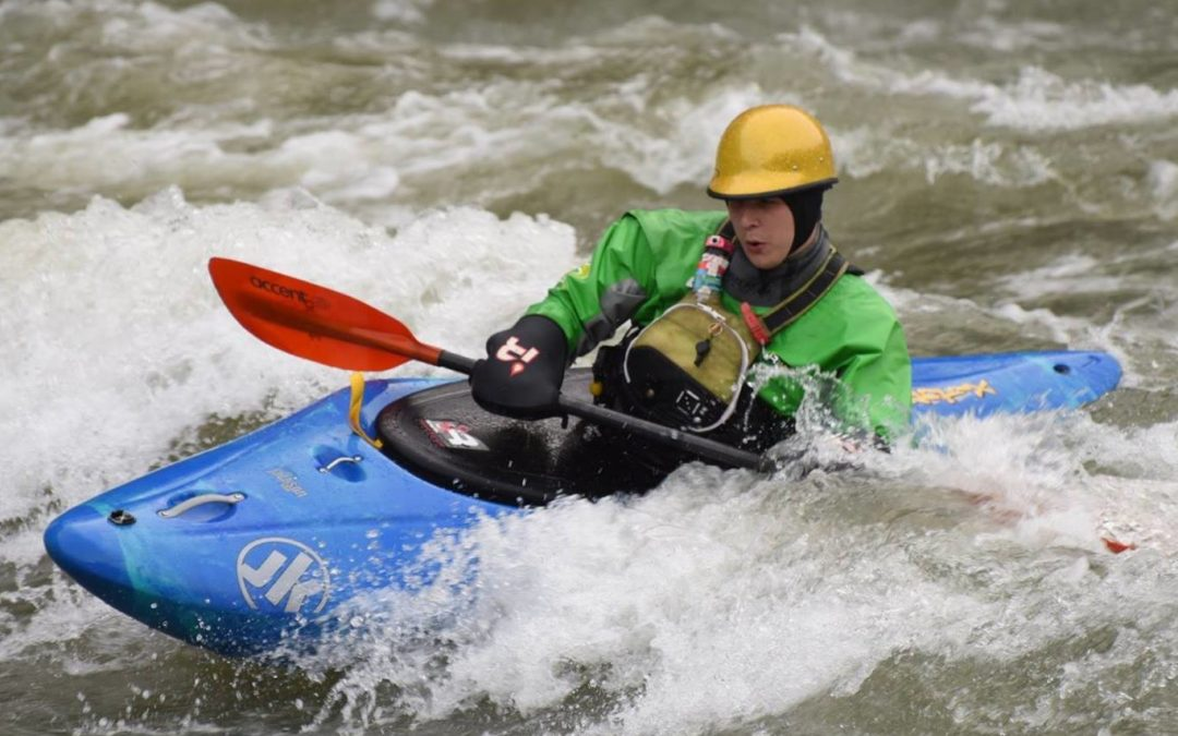 Paddling the Large Antix as a Sporty Creekboat
