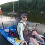 Pumping the Kayak Fishing Tires