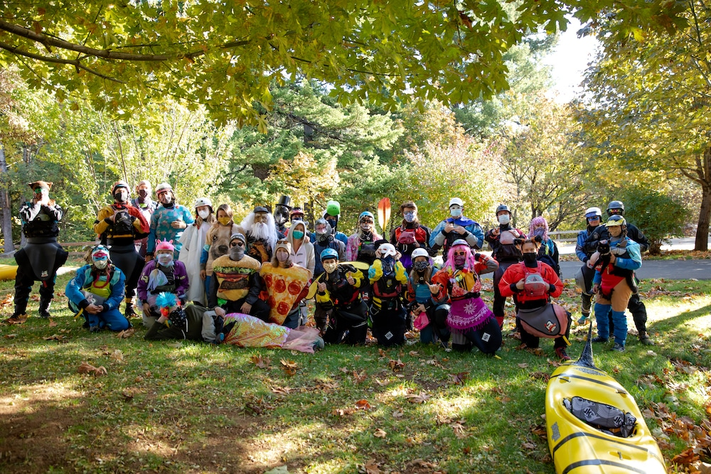 Annual White Salmon Halloween Paddle