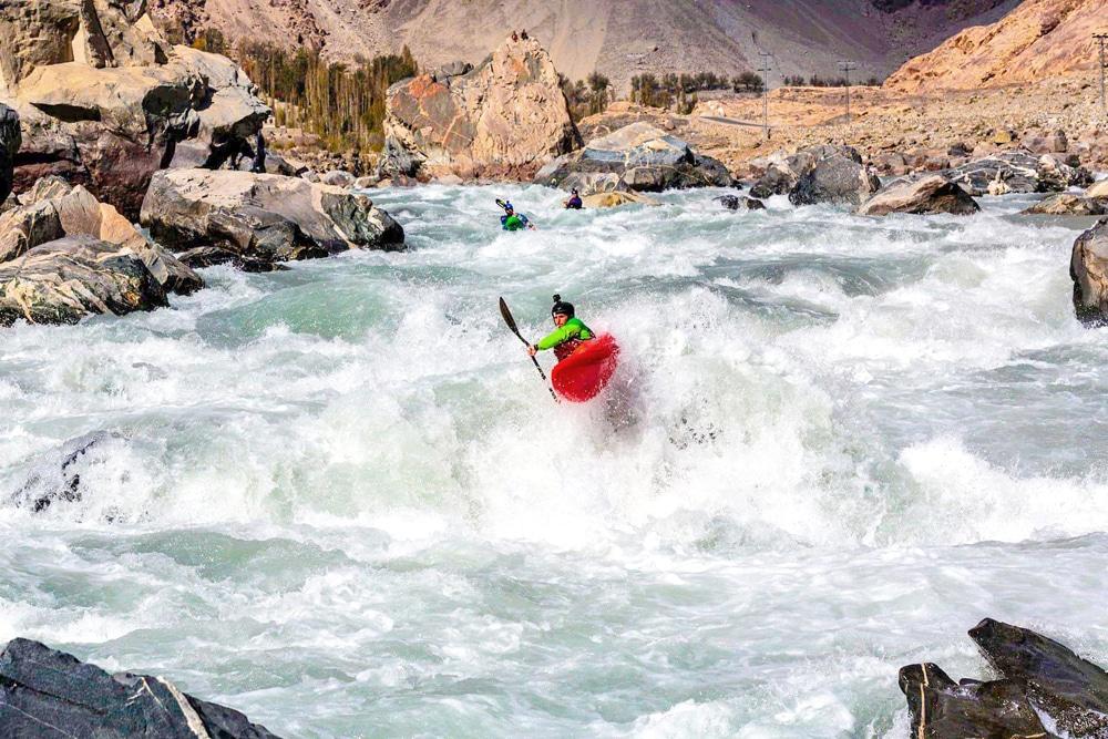 Kayaking in Pakistan