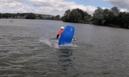 Nottingham Freestyle League – Flatwater competition & winning run