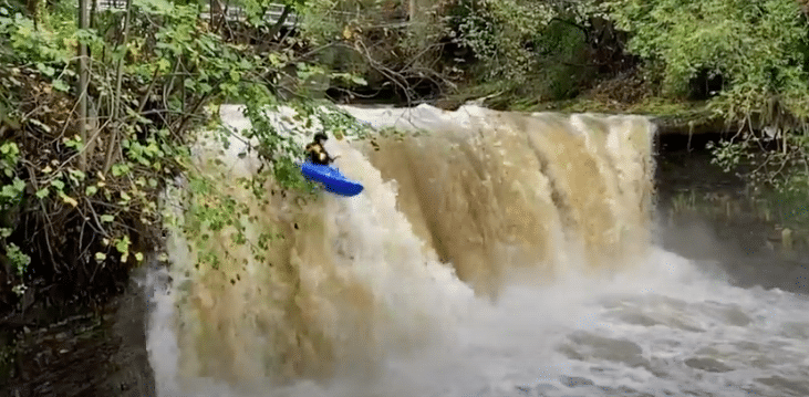 Kacwin Falls | Whitewater Kayaking Poland