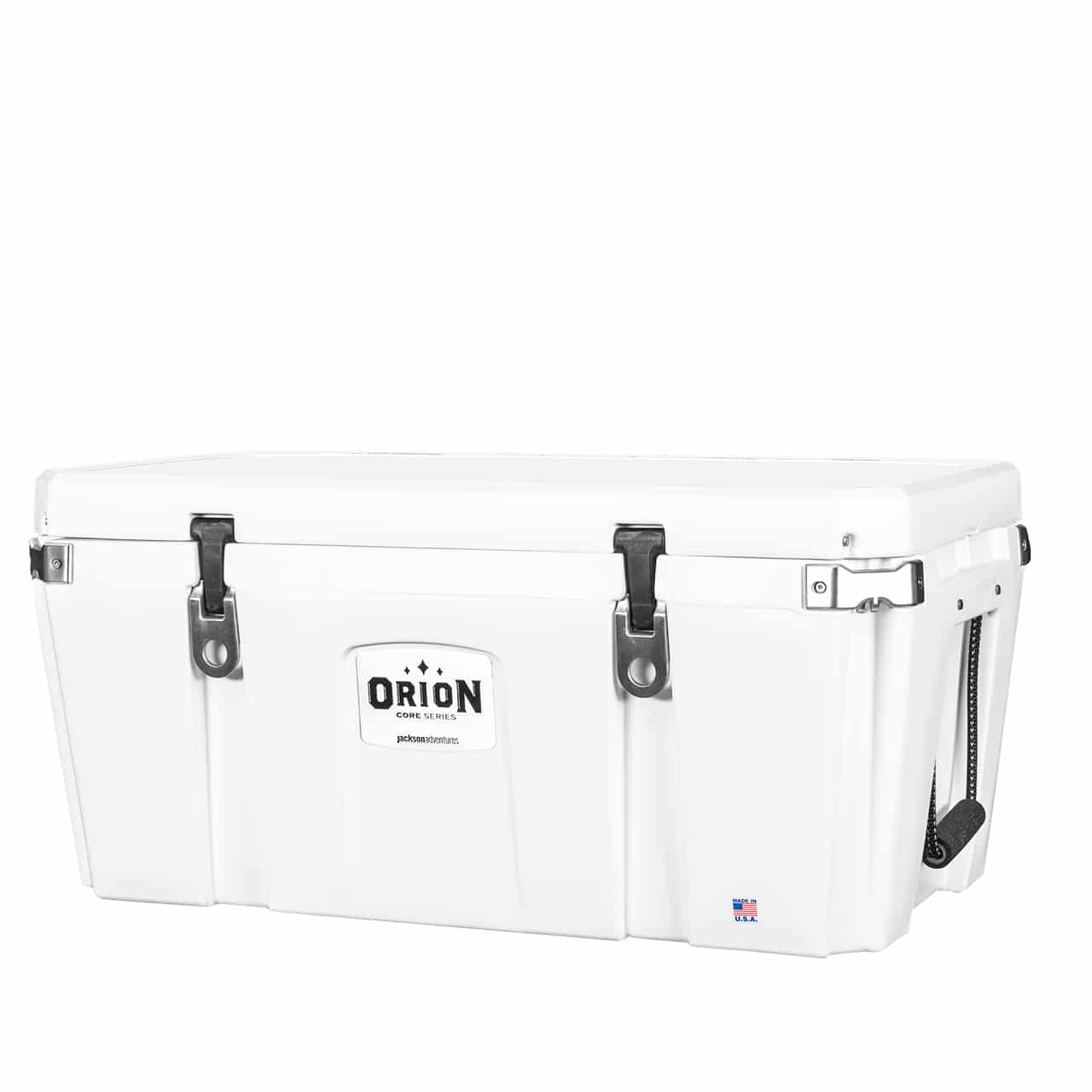 orion core 85 quart cooler white