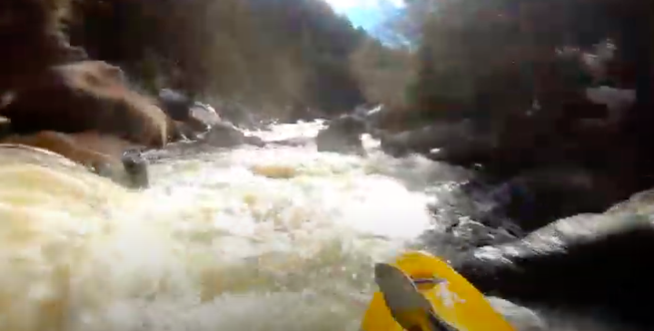Kayaking the Upper Blackwater in West Virginia