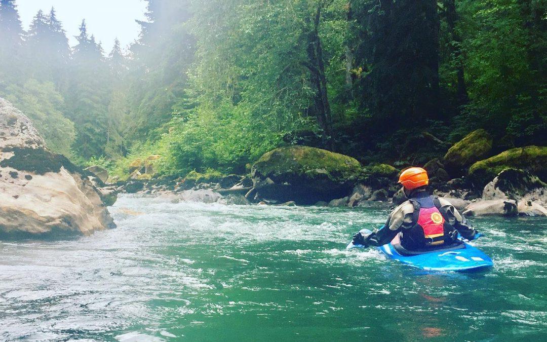 The Joy of Hand Paddling | Whitewater Kayaking
