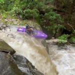 Kayaking Elsey Run in Albright, WV