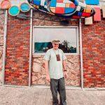 "Surf Betsy ""Mondrian Kayak"" Art Advocacy"
