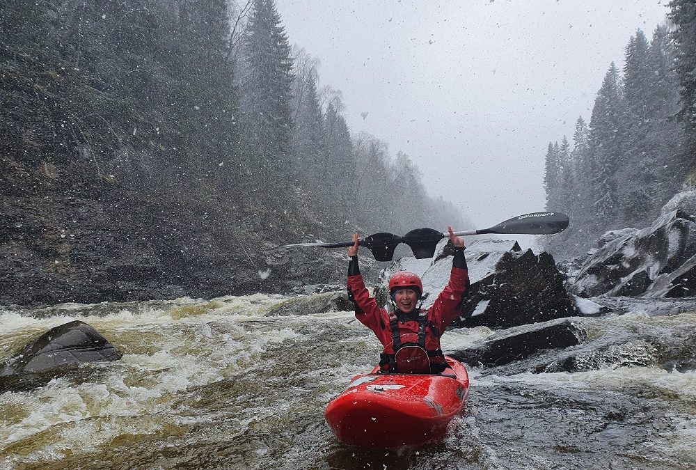 Kayaking After Giving Birth