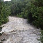 A River in Flood…in July