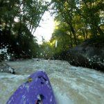 Kayaking my hometown Class V run – Deckers Creek (Pioneer Rocks Section) in Morgantown, WV