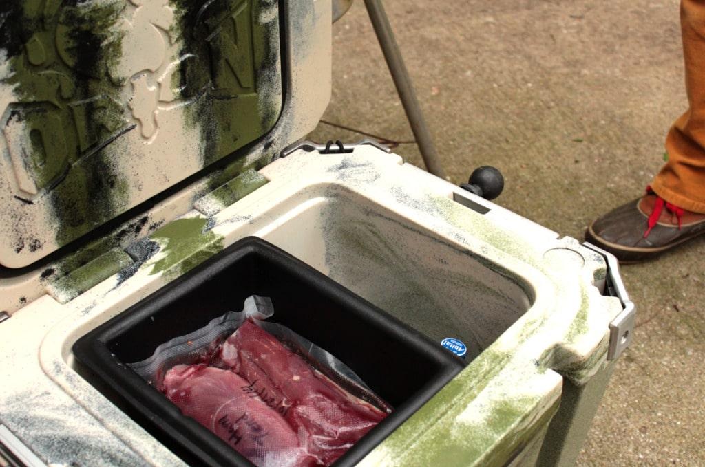 tenderloin backstrap in orion cooler